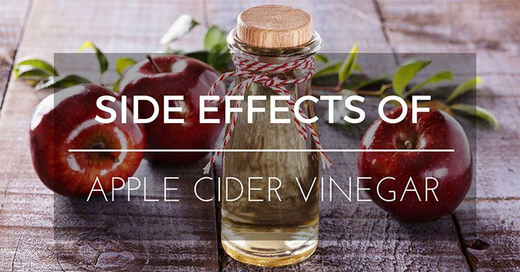 5 Scary Side Effects Of Apple Cider Vinegar And How To