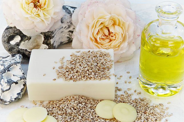 sesame oil for hair and scalp