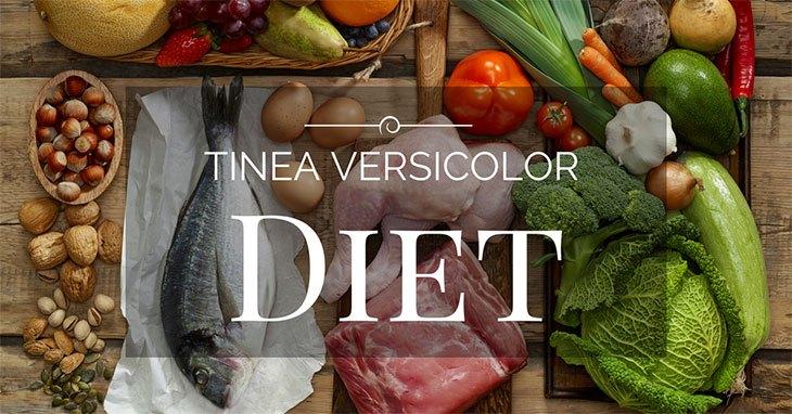 tinea versicolor diet