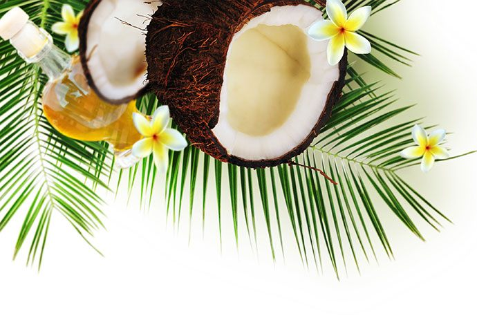 coconut oil for sunburn itch