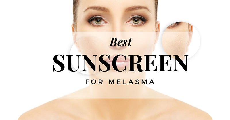 best sunscreen for melasma